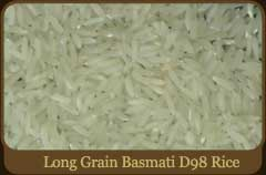 Long Grain Basmati D98 Rice